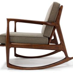 Mid Century Modern Rocking Chair Broyhill Executive Danish By Selig At 1stdibs