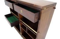 Mid Century Danish Modern Rosewood Stow or Fold Away Bar ...