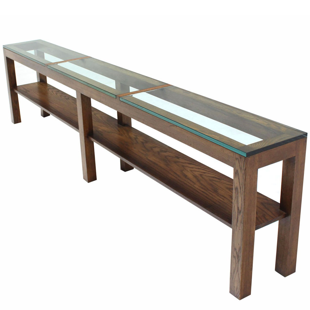 Extra Long Heavy Console Table At 1stdibs