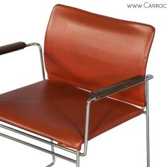 Mid Century Modern Accent Chair Orange Swivel Rv Chairs At 1stdibs