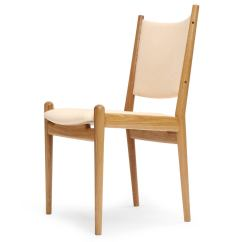 Oak And White Dining Chairs Pink Office Australia Leather By Hans Wegner At 1stdibs