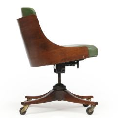 Barrel Back Chair Posture With Ball Desk By Edward Wormley For Dunbar At 1stdibs