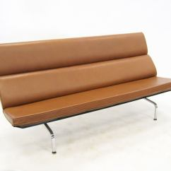 Eames Sofa Compact Knockoff How To Cleaning Leather In At 1stdibs