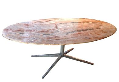 Oval Marble Top Dining Table Oval Marble Top Dining Table