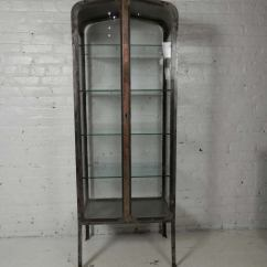 Primitive Kitchen Cabinets Remove Grease Buildup From Vintage Apothecary Metal Cabinet At 1stdibs