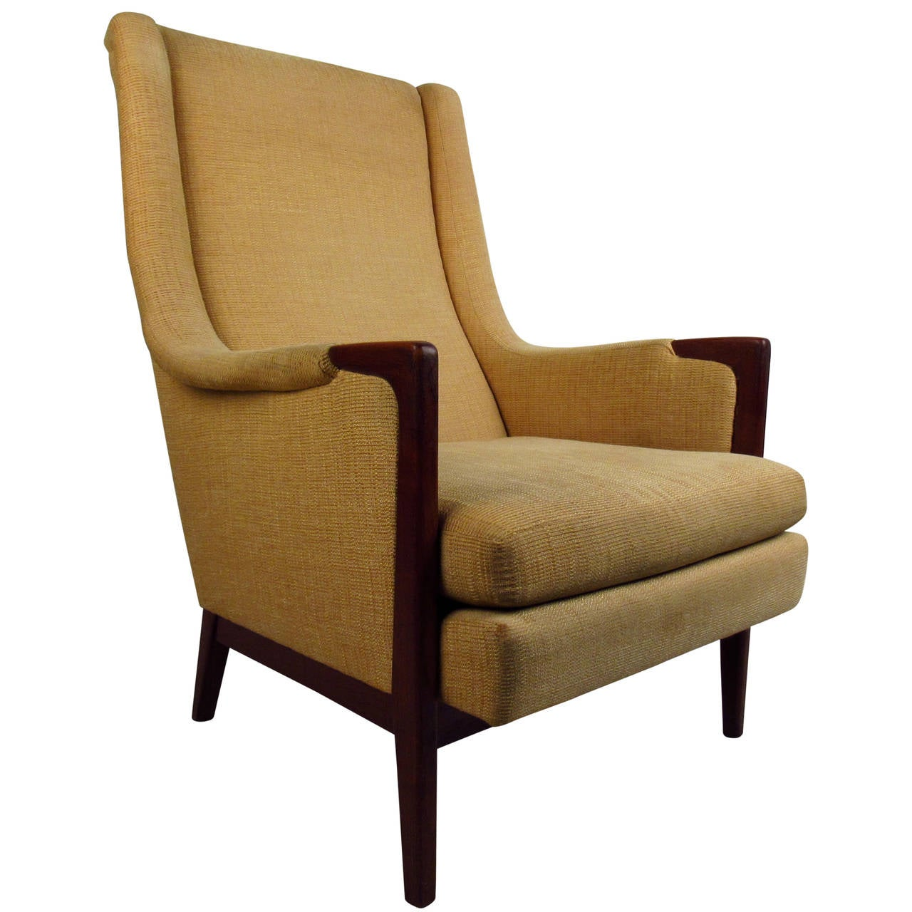 high back contemporary chairs amazon rocking chair mid century modern lounge at 1stdibs