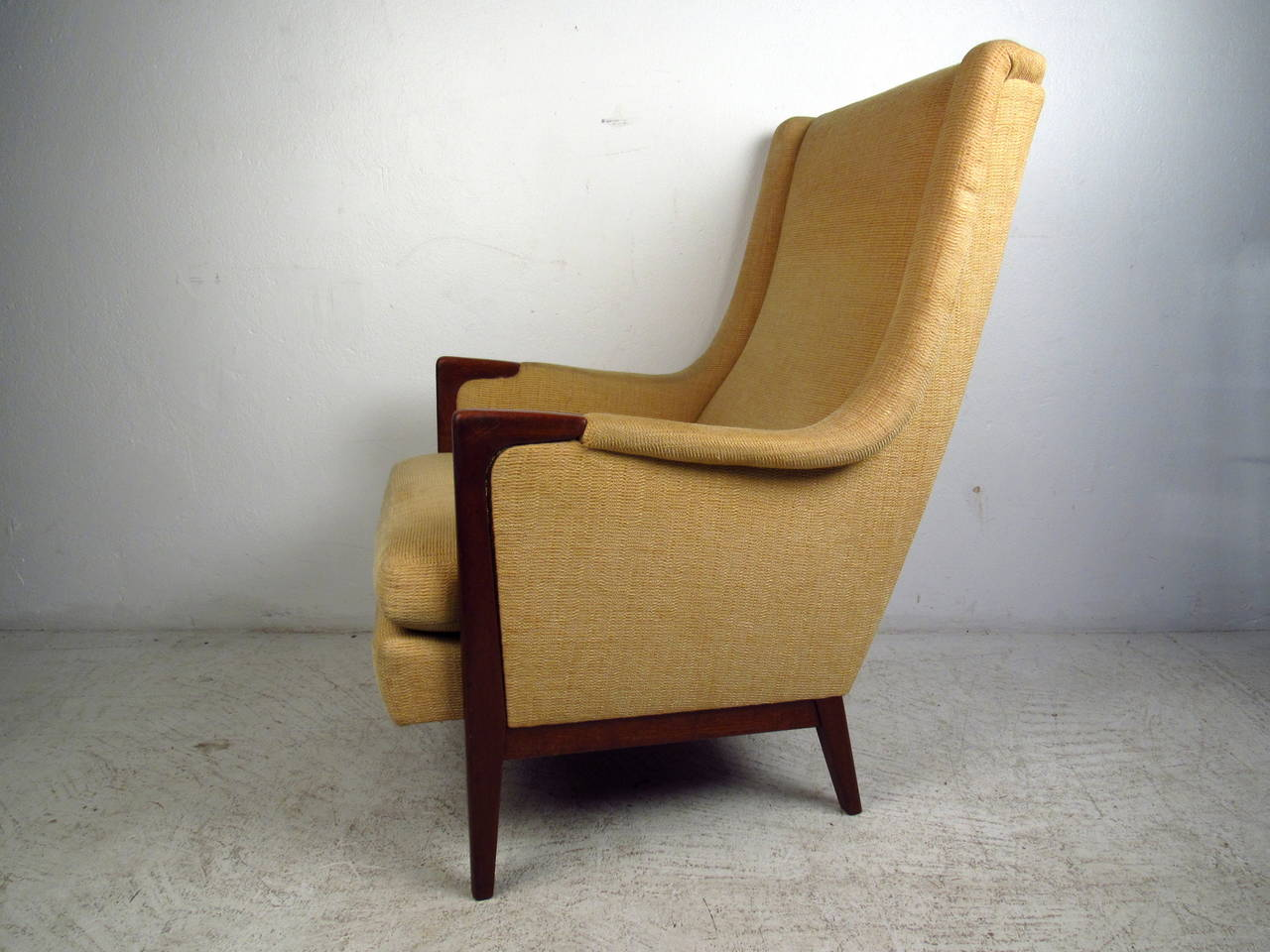 high back contemporary chairs walmart bouncy chair mid century modern lounge at 1stdibs