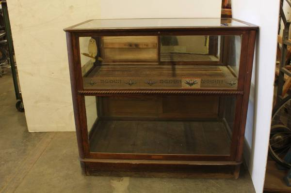 Antique Cigar Store Display Case