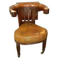 English Regency Reading Chair at 1stdibs