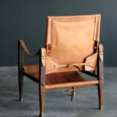 Leather Safari Chair Plastic Stool Malaysia Kaare Klint At 1stdibs