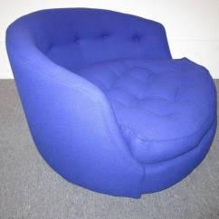 Circular Lounge Chair Hammock Swing Nz Fabulous Oversized Round Milo Baughman Swivel