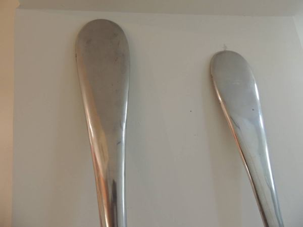 Fork and Spoon Wall Sculptures