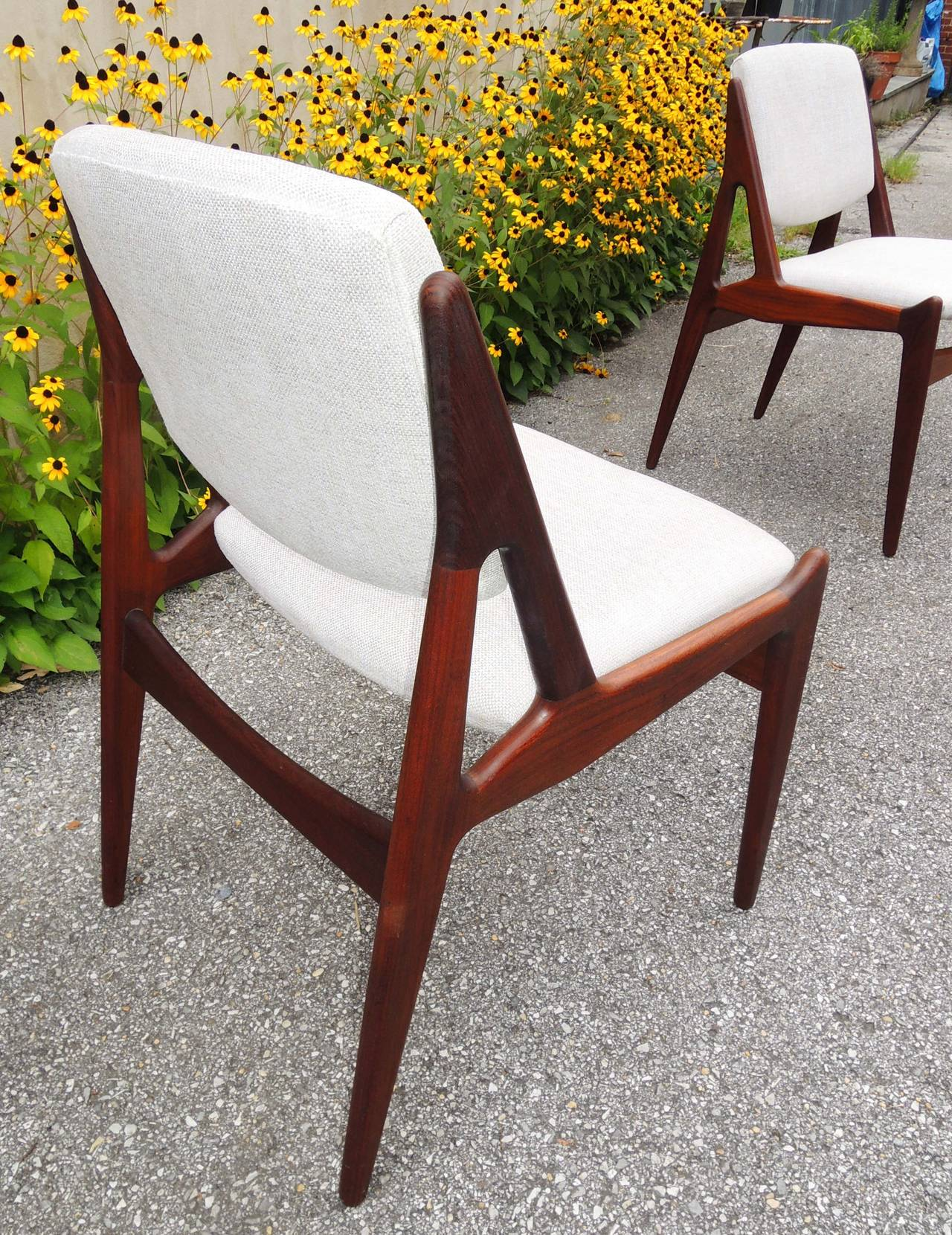 chair design back angle orthopedic office danish modern quottilt quot dining chairs at 1stdibs