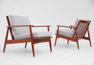 Modern Teak Chairs