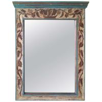 Large French Country Wall Mirror at 1stdibs