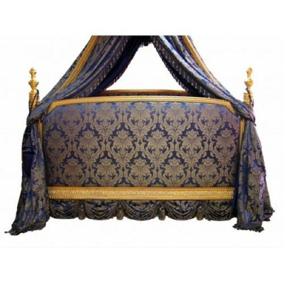 french canopy chair wheelchair karma louis xv rococo style bed at 1stdibs