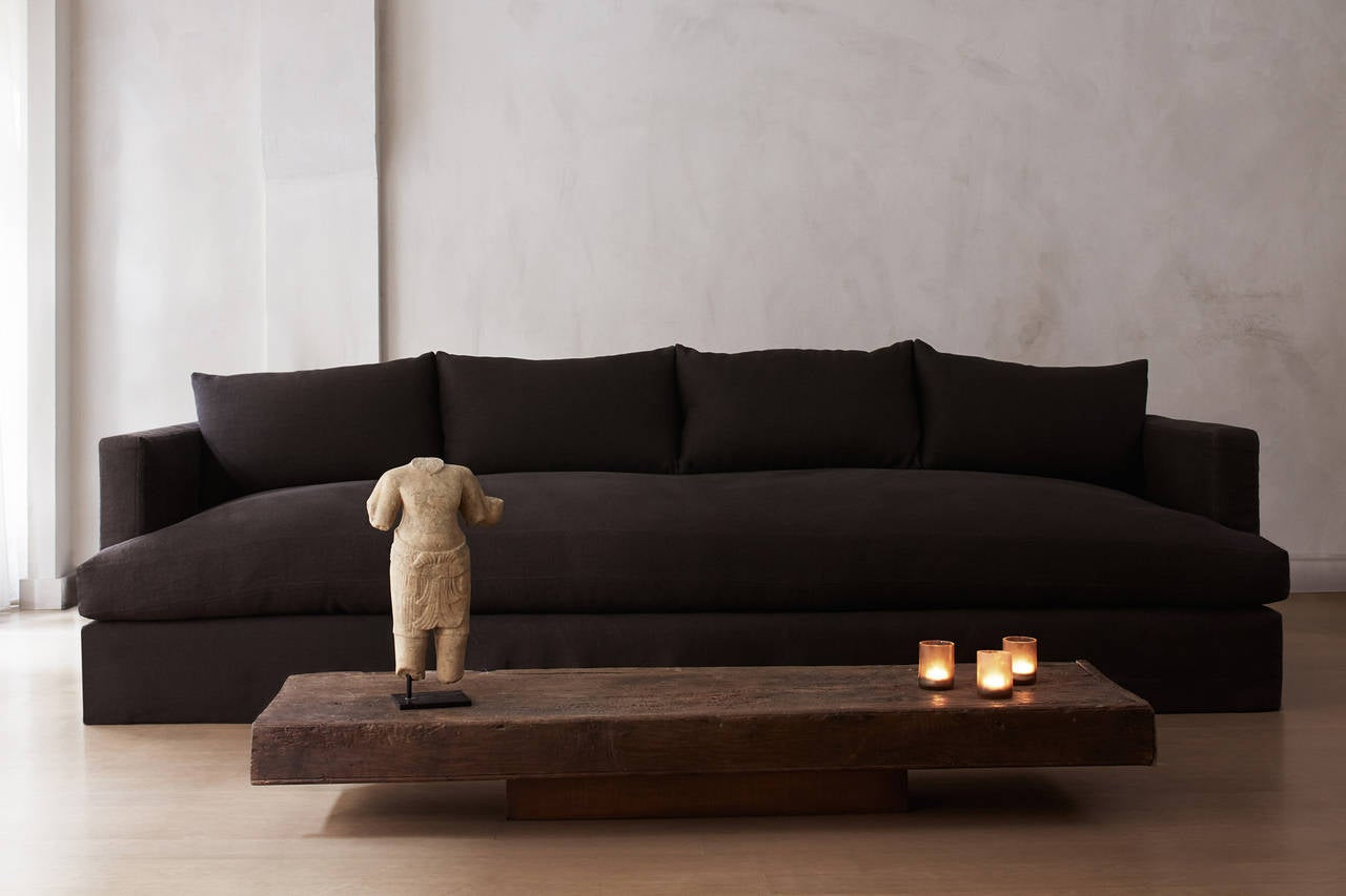 chelsea square sofa window fireplace deep at 1stdibs