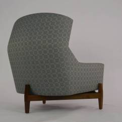 Big Chair With Ottoman Ball Benefits Rare Jens Risom Quotbig Quot At 1stdibs