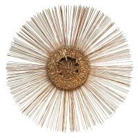 JERE' SUNBURST WALL SCULPTURE at 1stdibs