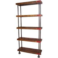Industrial Wood, Steel (Pipe) Cast Iron Shelving / Storage ...