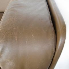 Steelcase Sofa Platner Twin Sleeper Leather Designed By Warren For At 1stdibs