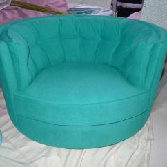 Swivel Tub Chairs Wheelchair Seat Cushion In Turquoise Ultra Suede At 1stdibs