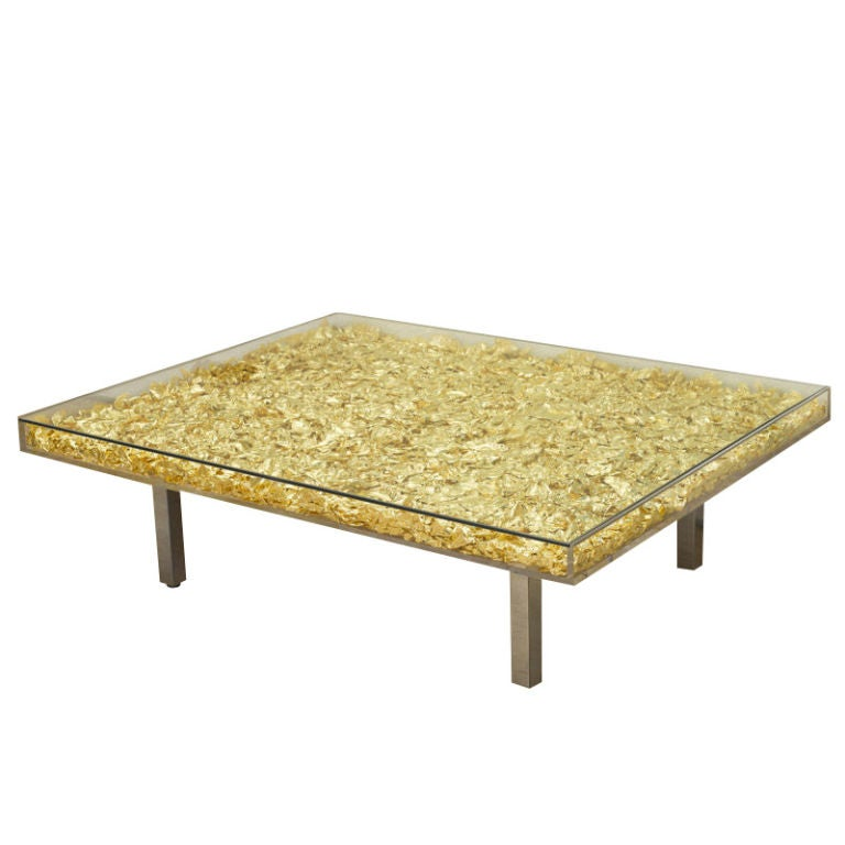 Yves Klein Coffee Table
