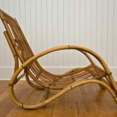 Wicker Chairs With Ottoman Underneath Best Chair For Lower Back Pain Rattan And At 1stdibs
