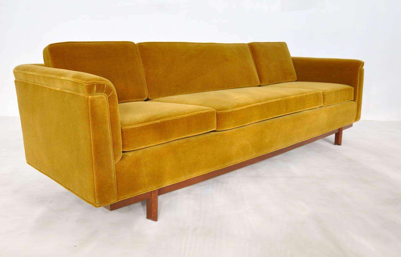 lloyd s of chatham sofa short legs frank wright at 1stdibs