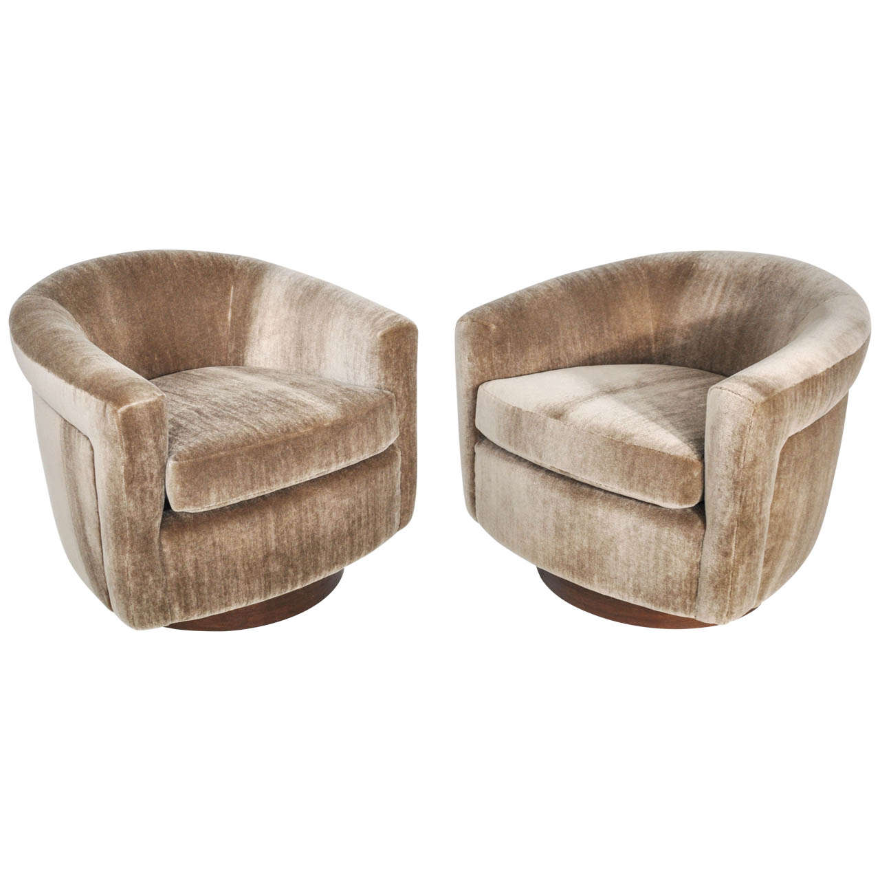 swivel lounge chairs pedicure chair replacement parts milo baughman