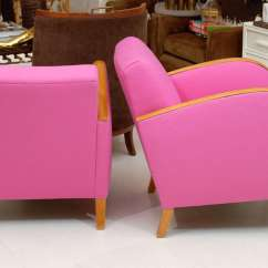 Pink Club Chair Bed Single Hot Deco Chairs At 1stdibs