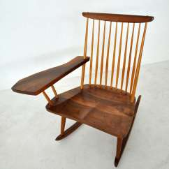 Antique Rocking Chairs Without Arms Polywood Modern Folding Adirondack Chair George Nakashima At 1stdibs