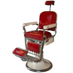 Best Barber Chairs Theatre Buy Antique Emil J Paidar Chair At 1stdibs