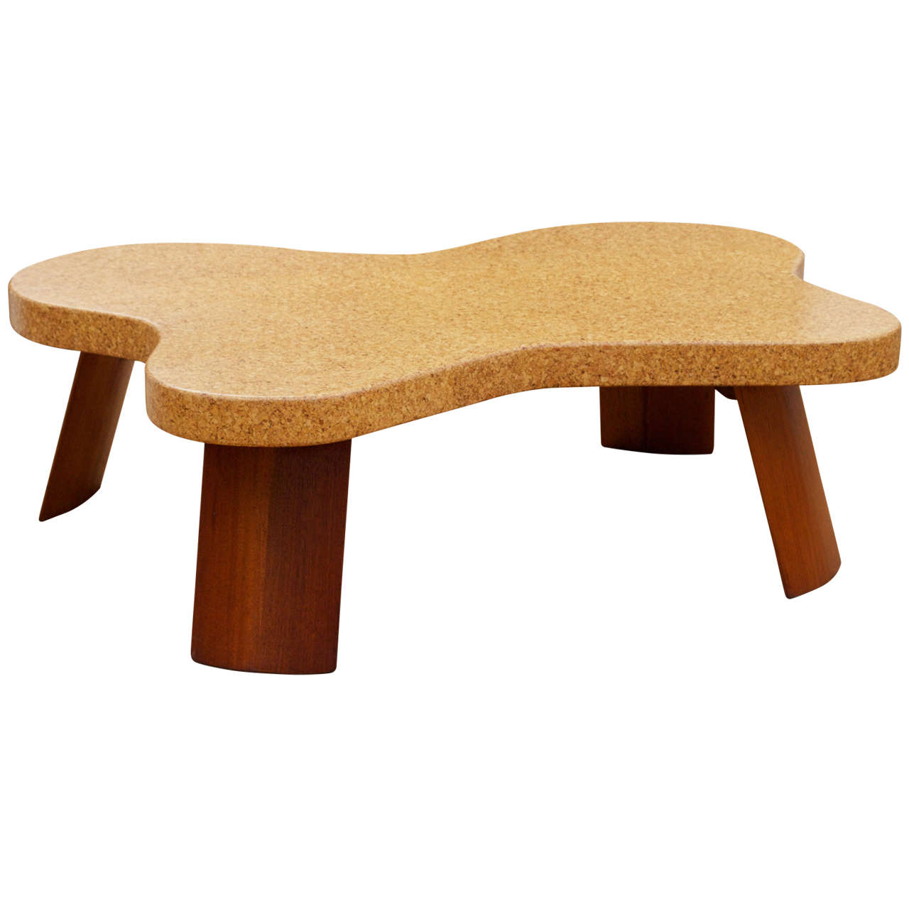 Paul Frankl Cork Top Coffee Table At 1stdibs