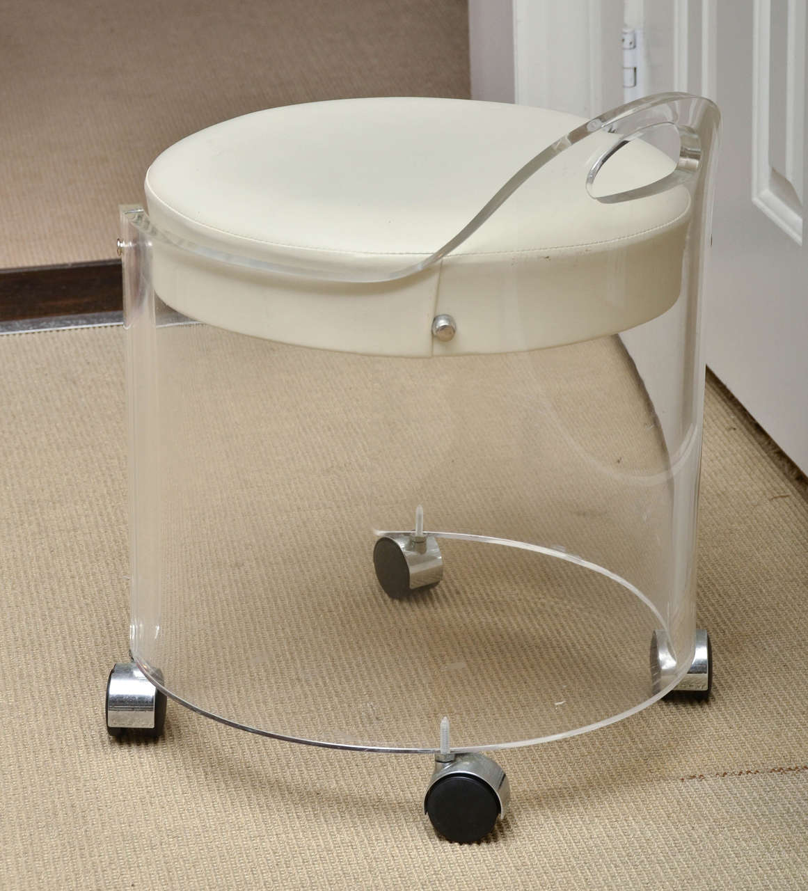 Clear Vanity Chair Lucite Vanity Stool Hairrs Us