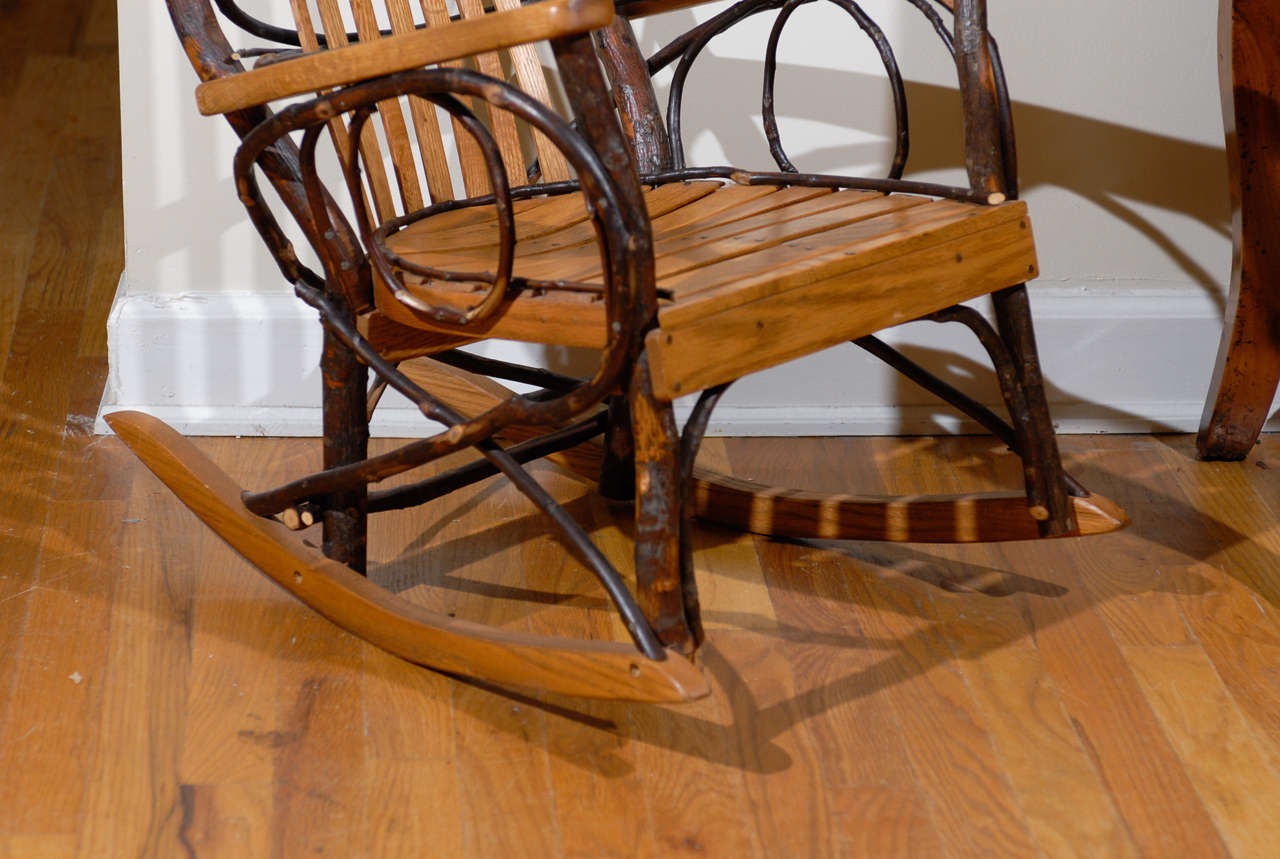 handmade rocking chairs foldable chair plans original amish at 1stdibs