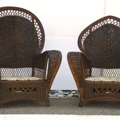 Antique Wicker Chairs Angel Chair Covers And Sofa At 1stdibs