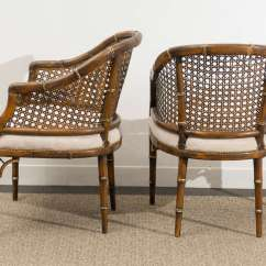 Cane Barrel Chair Designs For Living Room Beautiful Vintage Faux Bamboo Back Chairs 4