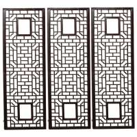 Chinese Lattice Wall Panels at 1stdibs