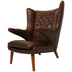 Papa Bear Chair Eams Lounge Hans Wegner
