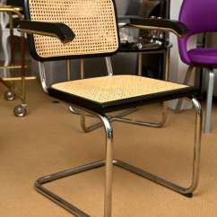 Marcel Breuer Cesca Chair With Armrests Folding Picnic Table And Chairs Asda By At 1stdibs