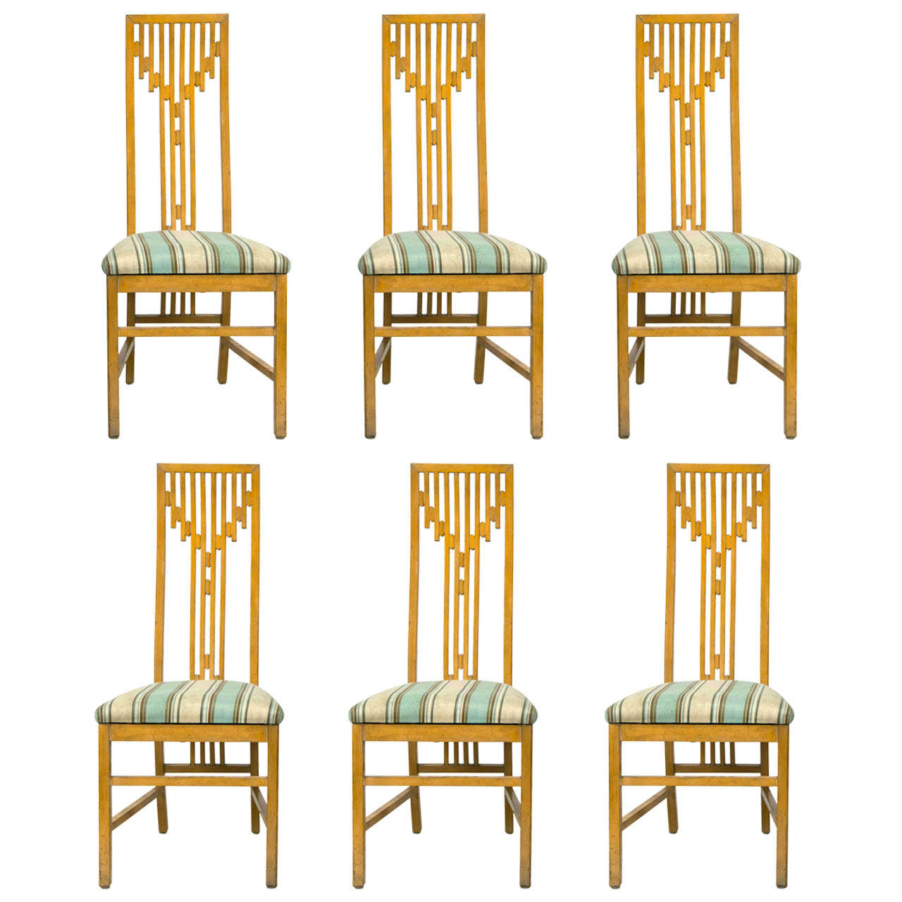 arts and crafts style chair ikea tub covers canada set of 6 dining chairs