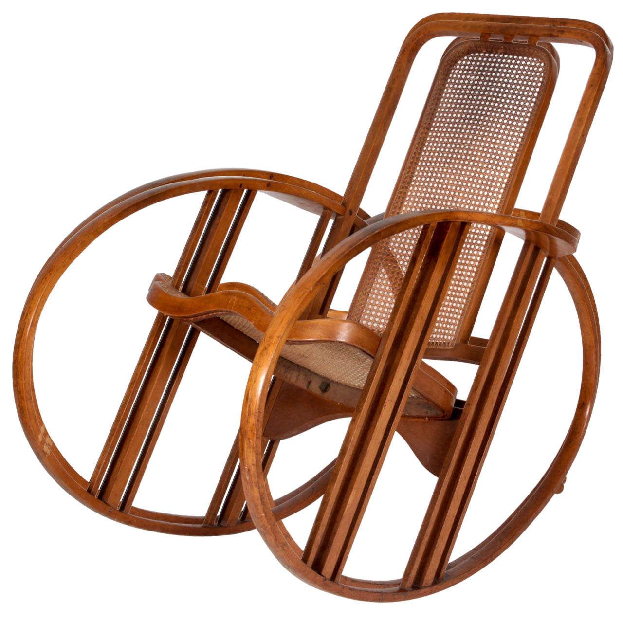 1920s rocking chair irest massage reviews antonio volpe josef hoffmann attr quotegg quot
