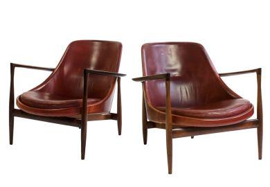 Ib Kofod Larsen Lounge Chairs At 1stdibs