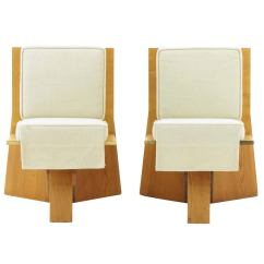 Frank Lloyd Wright Chairs Clam Ice Fishing Chair Pair Of From The Sondern House