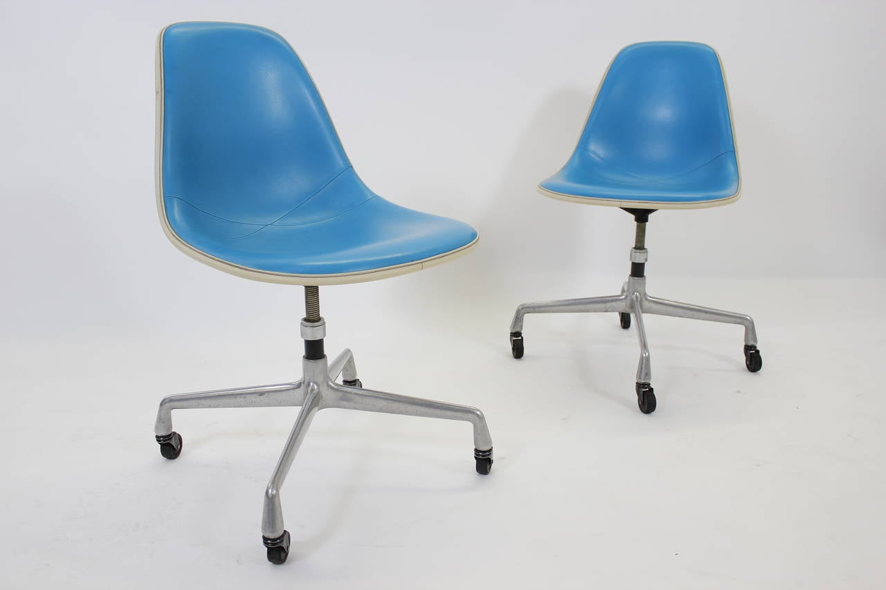 herman miller rolling office chair swivel canada rare adjustable desk chairs 1960s