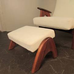Comfy Chair And Ottoman American Leather Chairs Recliners Rare Very Comfortable Lounge By