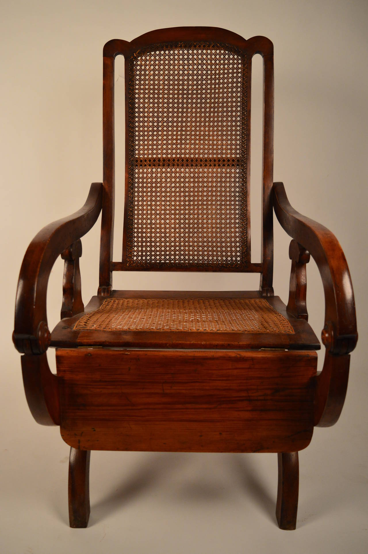 british colonial chair sit stand test 19th century reclining at 1stdibs