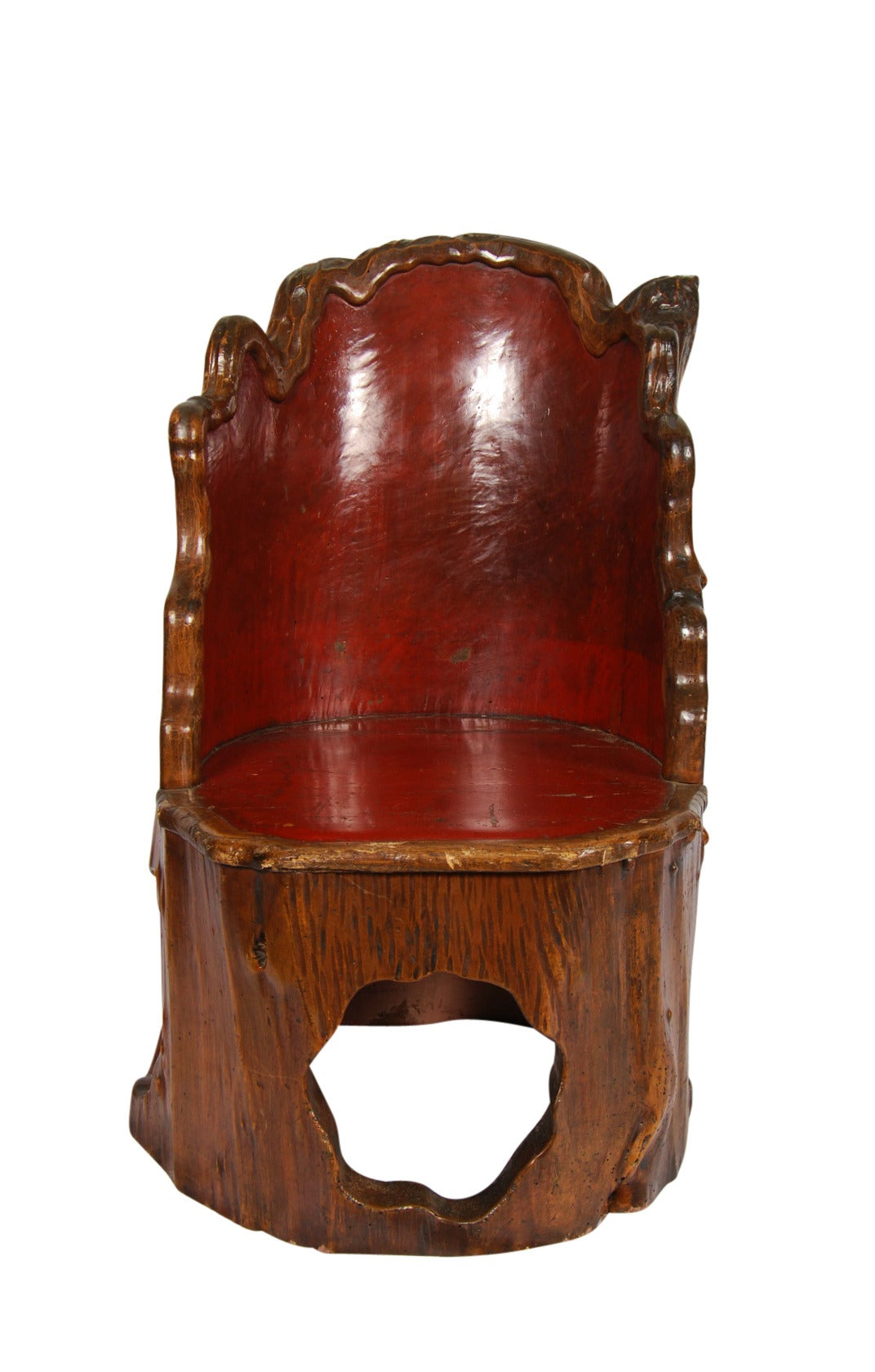 Japanese Chair Antique Japanese Folk Art Chair At 1stdibs