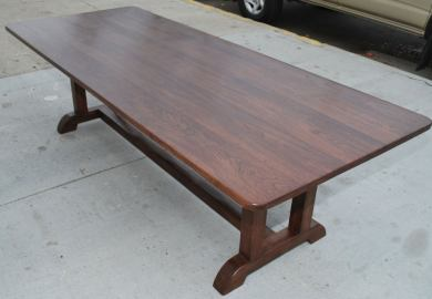 Vintage Black Dining Table